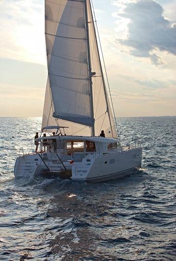 callisto lagoon 400 sailing stars